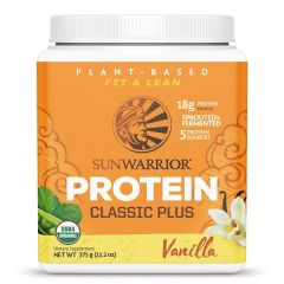 Sunwarrior Classic Plus Biologische Proteïne Vanille 375 Gram