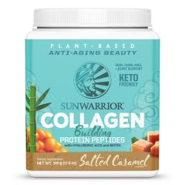 Sunwarrior Collagen Building Protein Peptides Salted Caramel 500 Gram