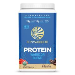 Sunwarrior Warrior Blend Biologische Proteïne Mokka 750 Gram