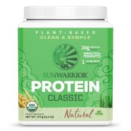 Sunwarrior Classic Proteine Naturel 375 Gram Aanbieding