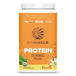 Sunwarrior Classic Plus Biologische Proteïne Vanille 750 Gram