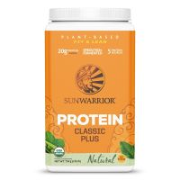 Sunwarrior Classic Plus Biologische Proteïne Naturel 750 Gram